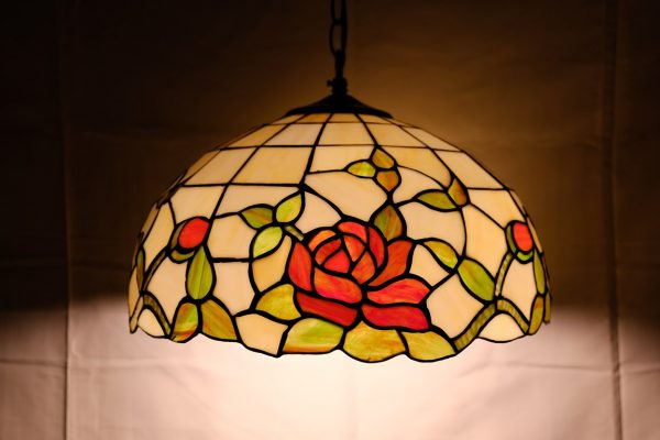 T ROSE - LAMPADARIO TIFFANY