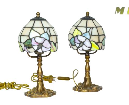 Abat-jour vetro tiffany - lampada e27