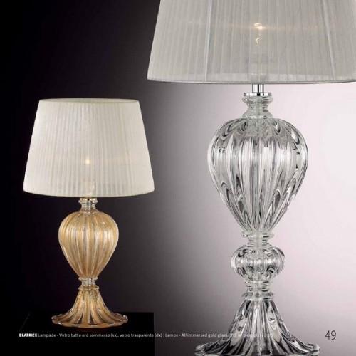 Lampade da tavolo stile vetro di murano archivi murano luce - Lampade da tavolo classiche ...
