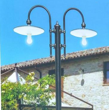 CLIO PALO 2 LUCI - LUCE DA ESTERNO - CLASSIC LIGHT