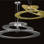 Planet Sospensione Design in alluminio 1 Luce