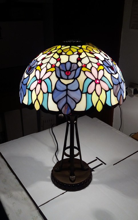 Tiffany lampada Violet