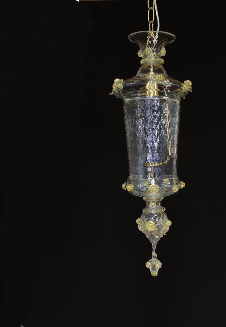 Lanterna Casanova - Lanterna veneziana - Vetro soffiato - Design classico