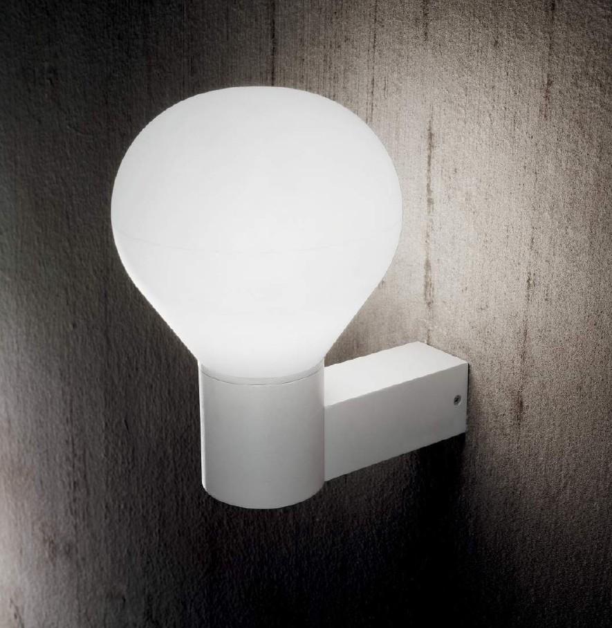 Symphony - Applique Bianco - Luce da Esterno - Outdoor Lighting - Ideallux