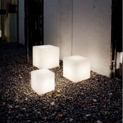 Sole [] - Luce da esterno - In materiale plastico bianco opaco - 1xE27 - LIGHTINGS OUTDOOR