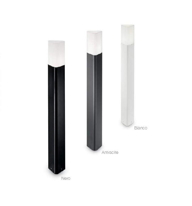 PULSAR - Paletto da esterno - Luce da esterno - Alluminio pressofuso - Diffusore in polcarbonato - lighting outdoor