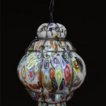 Lanterna Oval Murrine - vetro soffiato a mano - Lanterna veneziana - Luce 1xE27