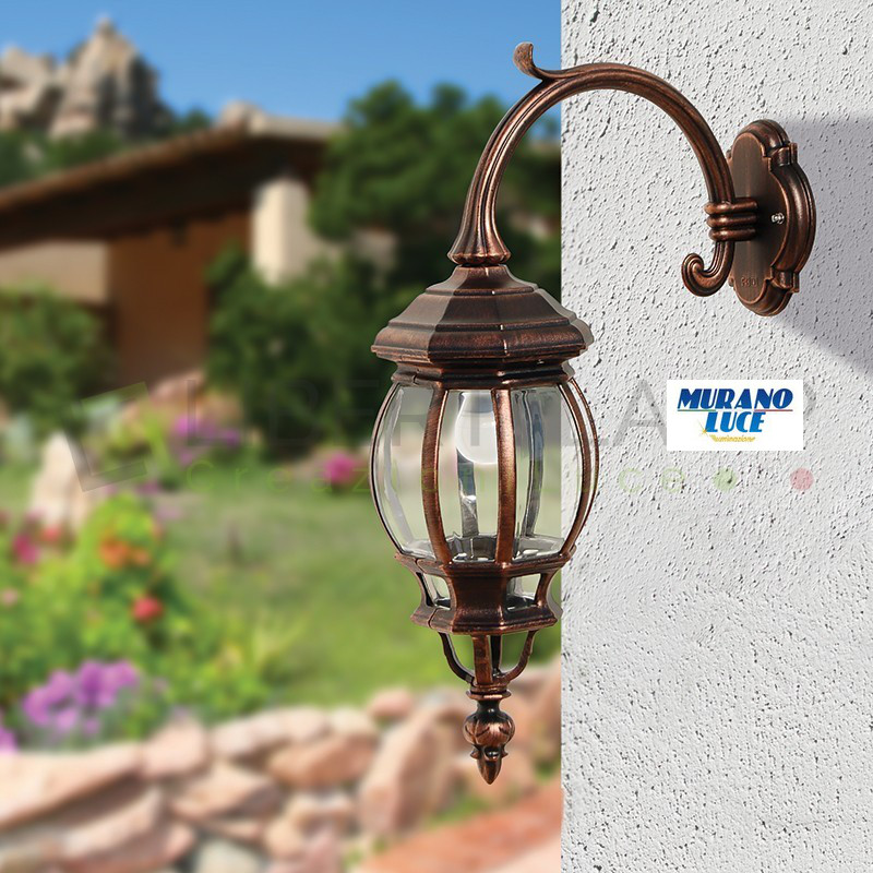 Enea - Applique da esterno - luce esterno - allominio pressofuso - 1xE27 - outdoor lighting