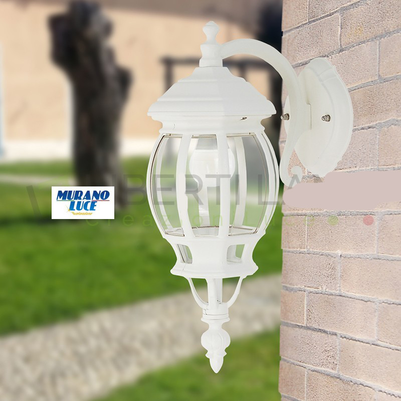 ENEA BIANCO - applique bianco - LUCE DA ESTERNI - LIGHTING OUTDOOR