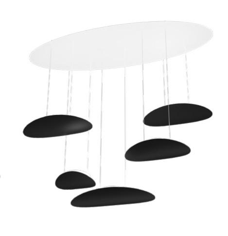 PLANETVIP- sospensione con numerosi fonti di luce