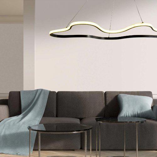 CLARA - SOSPENSIONE GRANDE A LED INTEGRATO