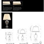 Farnese - Lampade Misure