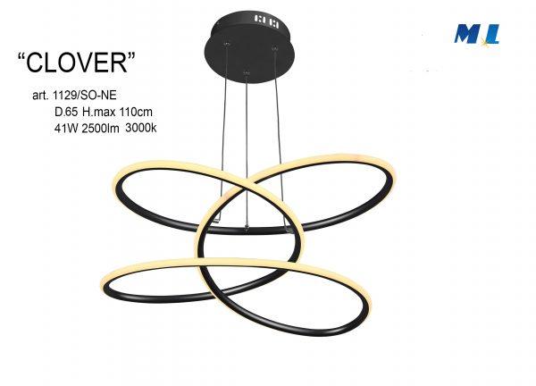 CLOVER - MODERNO A LED INTEGRATO