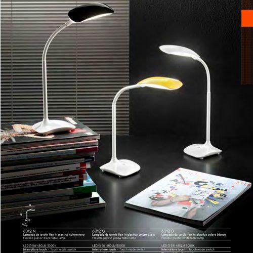 WINNIE -LAMPADA DA TAVOLO FLEX - LAMPADA CON PINZA -LED
