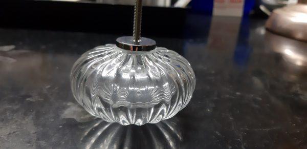 Finale in vetro soffiato - color cristallo