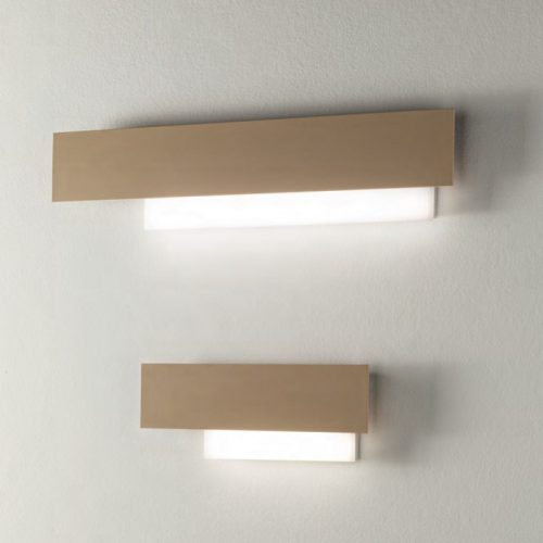 DOHA - APPLIQUE LED INTEGRATO TORTORA
