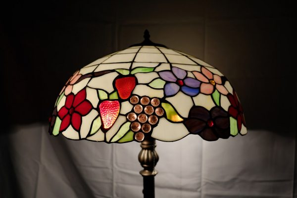 T990 - LAMPADA DA TERRA - TIFFANY