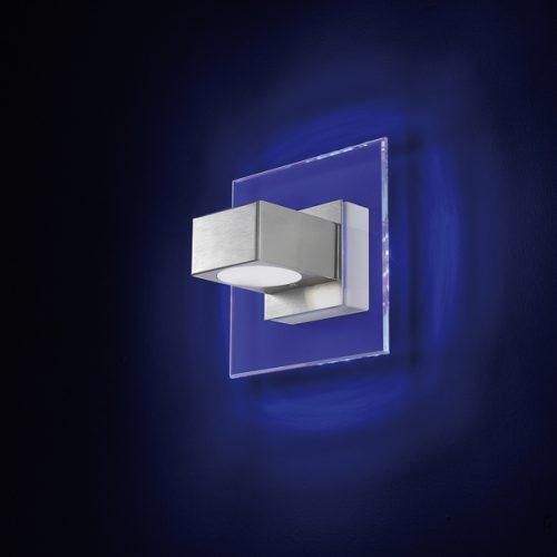CLAIRE APPLIQUE MONO \ BILUCE - RETROILLUMINAZIONE LED BLU