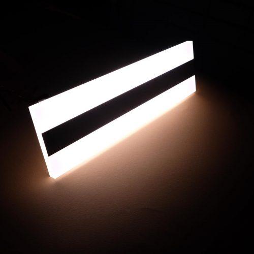 BEND - APPLIQUE A LED INTEGRATO - LUMINOSA