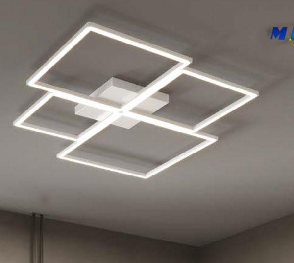 Four Square - plafoniera led integratop