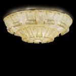 Dorian 154 oro Plafoniera di Murano