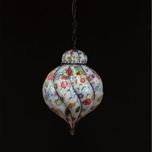 Lanterna Murrine - Lanterna Veneziana murano- Luce 1xE27 - IP20 - Indoor & outdoor