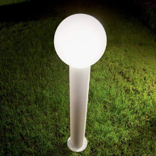 Symphony - Palo Bianco - Diffusore Sfera - Luce da esterno - lighting outdoor - ideallux