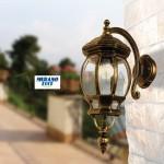 Enea - Applique da esterno - luce esterno - allominio pressofuso - 1xE27 - outdoor lighting