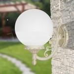 Orione Bianco Applique - Orione Applique - Luce da esterno - Struttura in alluminio pressofuso - diffusore in acrilico