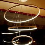 Rings - Sospensione Grande a Led -