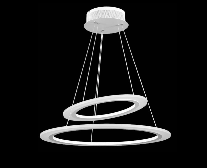 ORBIT - SOSPENSIONE 2 LUCI - LED INTERGRATO - 50W - 4000K
