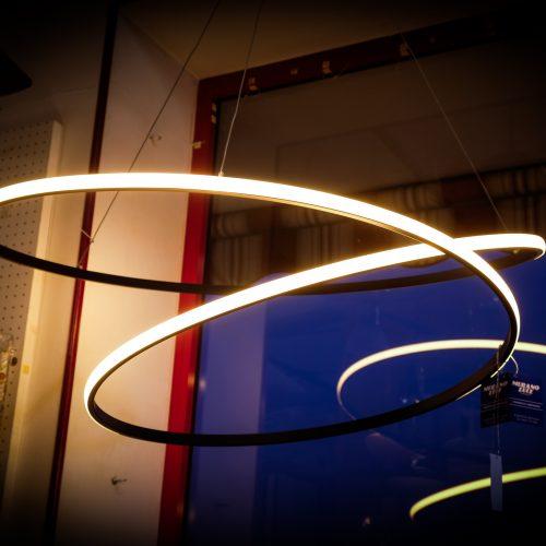 GLAM - ROUND 100cm - COLOR NERO CAFFE'