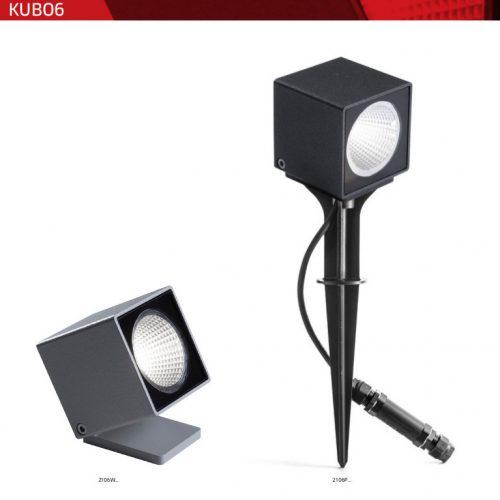 Kubo 018 - Proiettore e Cubo a luce a Led - 3 misure