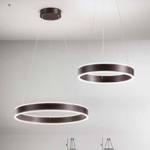 RUST - SOSPENSIONE A LED INTEGRATO